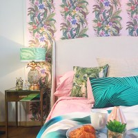Trend: How to design a Tropical bedroom  Sophie Robinson