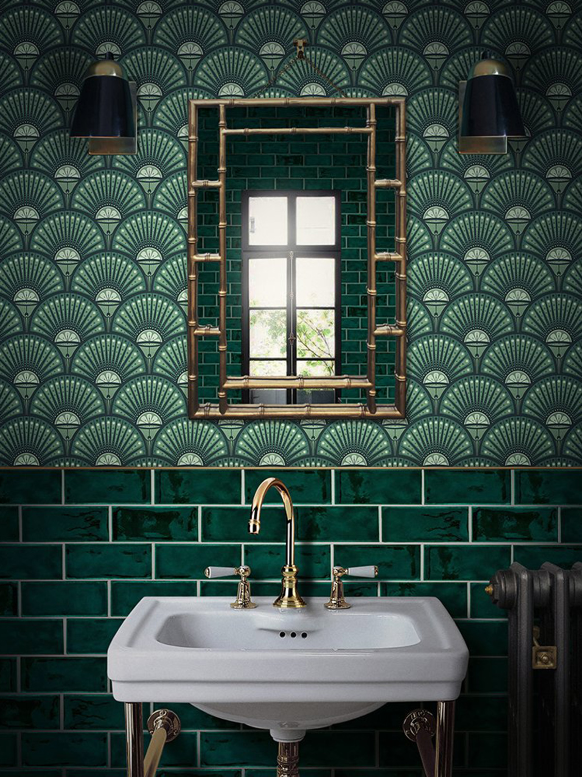 can you wallpaper a bathroom and if so