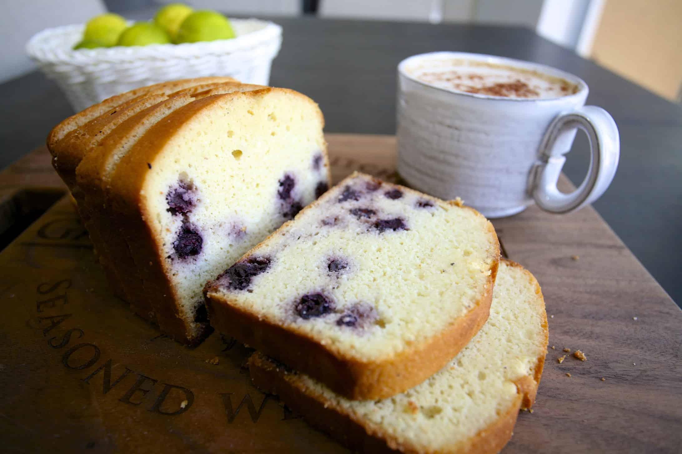 [生酮甜點] 檸檬藍莓磅蛋糕-低碳無糖無麩質-淨碳水