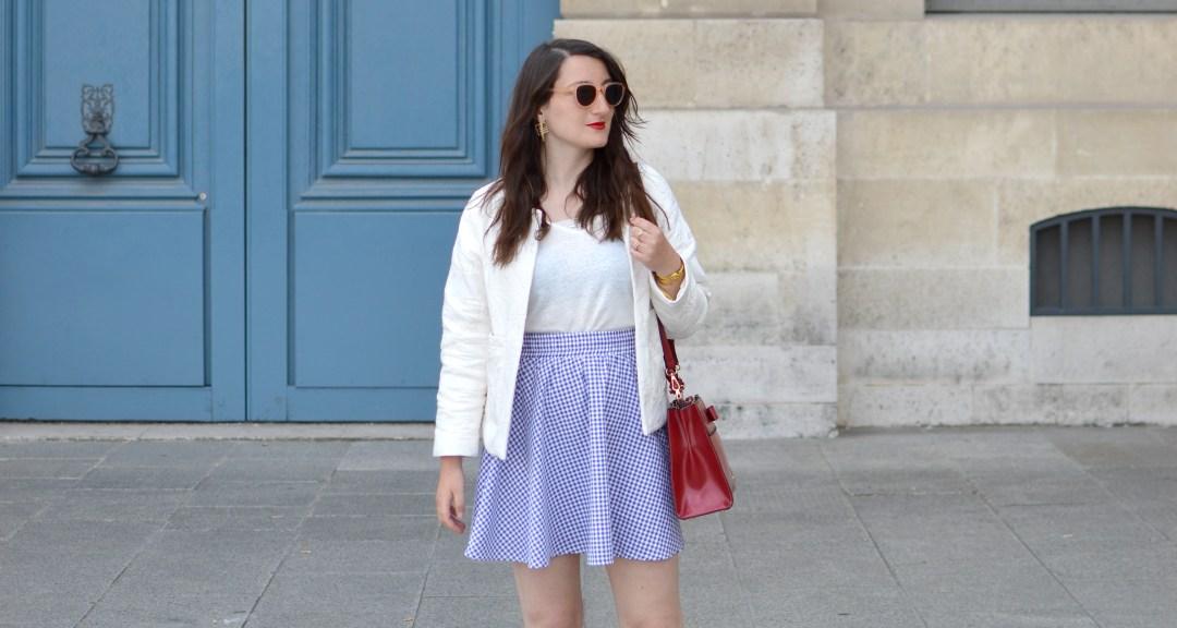 Blog_Sophiesmoods_Looks_Jupe_Vichy_Bleu_Et_Blanc_cover
