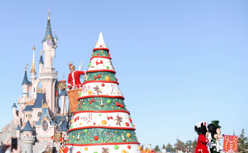 noël à disneyland paris