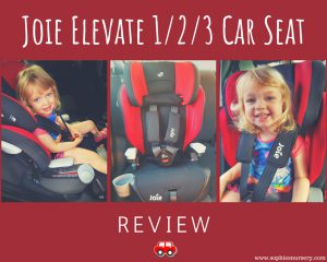 NEXT DAY Joie Elevate 1//2//3 Group Car Seat Black Safety Baby Child Booster NEW
