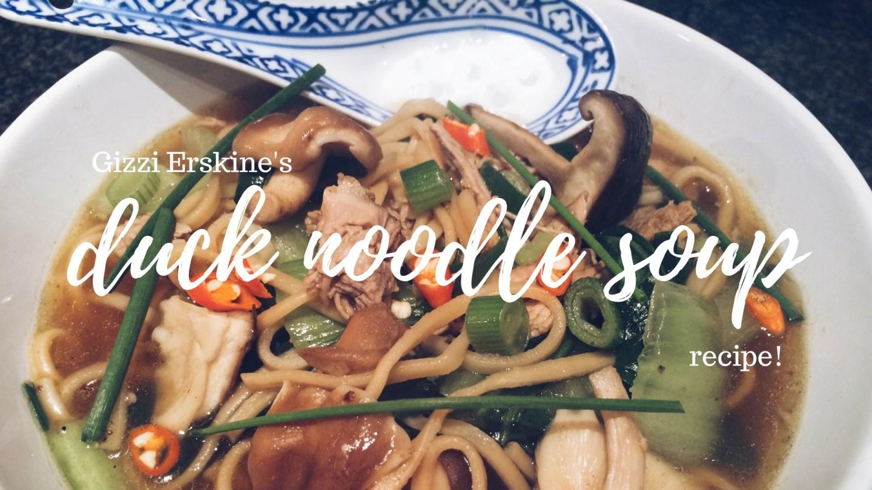 duck noodle soup recipe