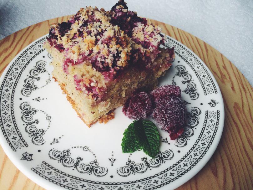 Cee's Raspberry & Coconut Cake