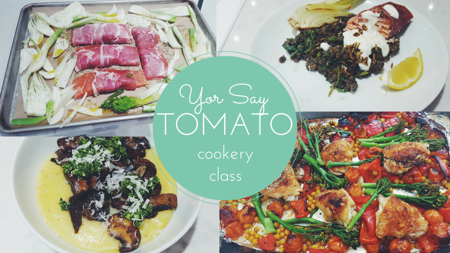 You Say Tomato, Cookery Class, Cheshire