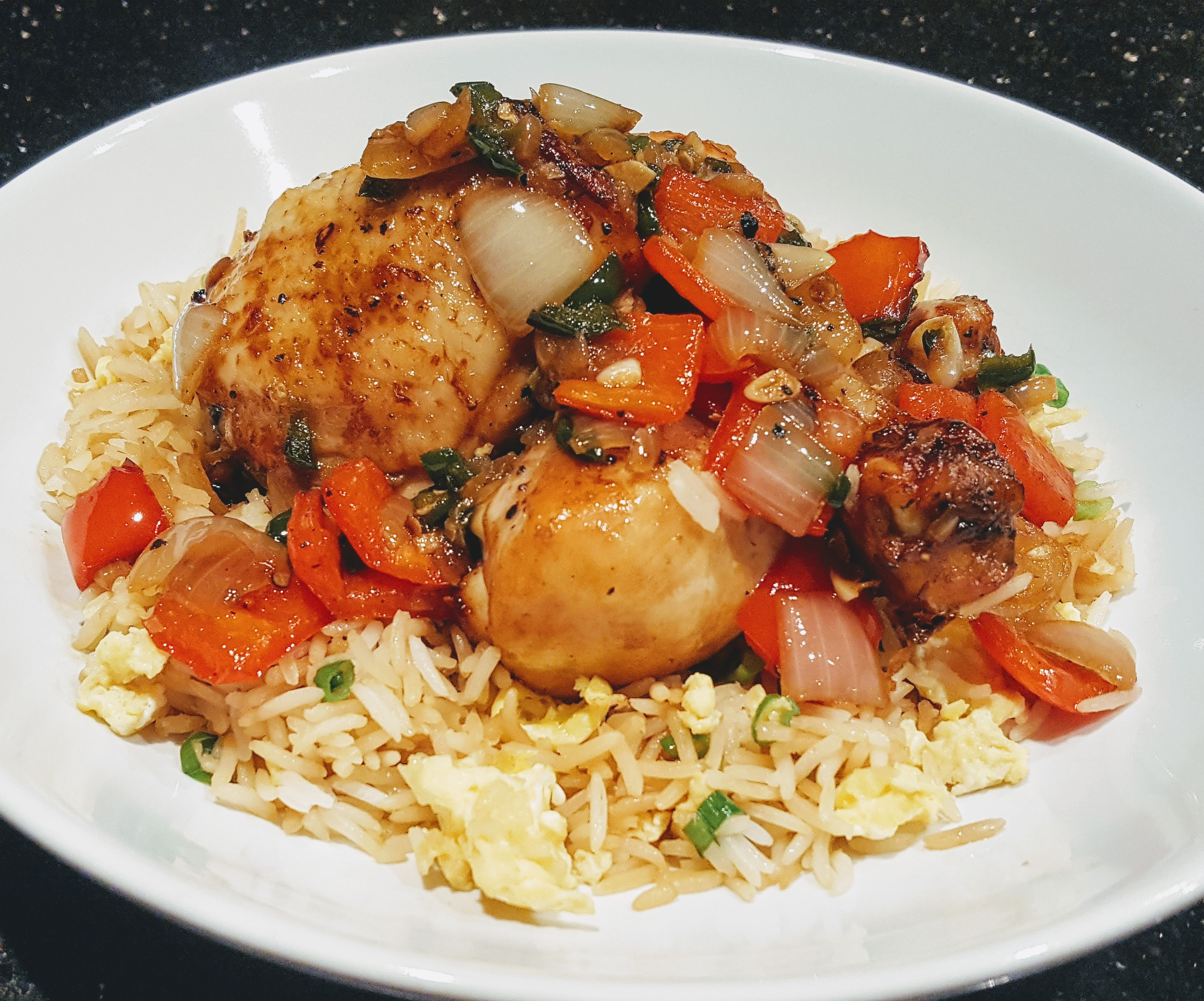 healthy salt and pepper chicken recipe Tefal ActiFry