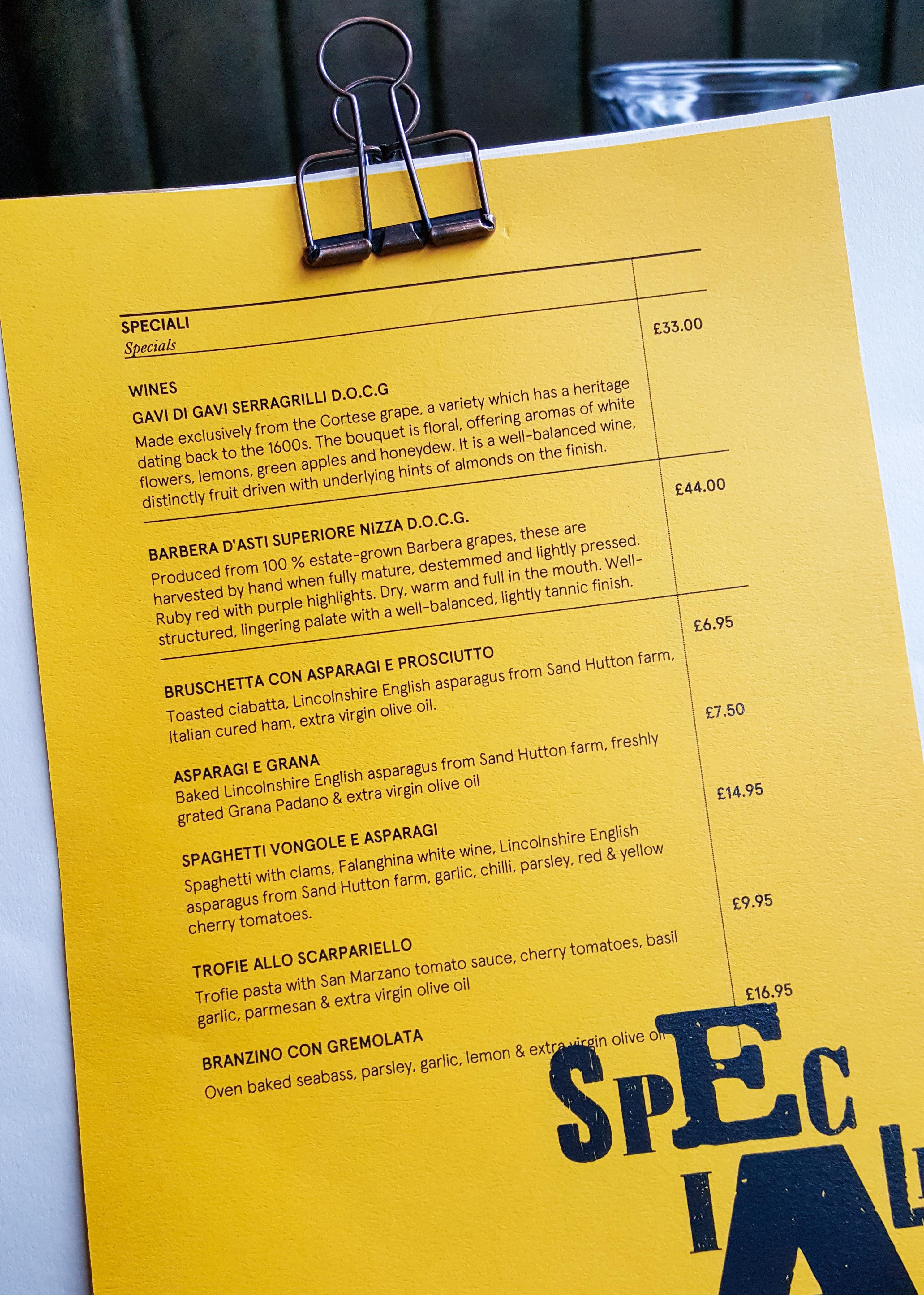 restaurant review Tre Ciccio, Altrincham