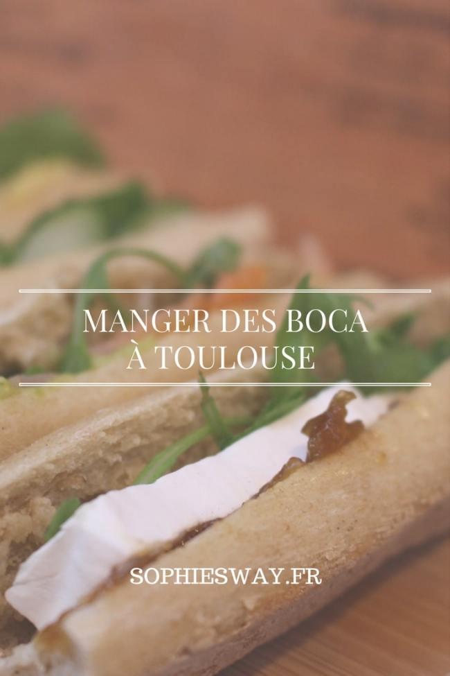 Boca - sandwich à Toulouse