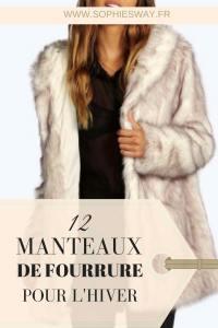 12 manteaux de fourrure pour l'hiver