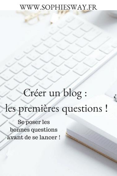Créer un blog : se poser les premières questions !