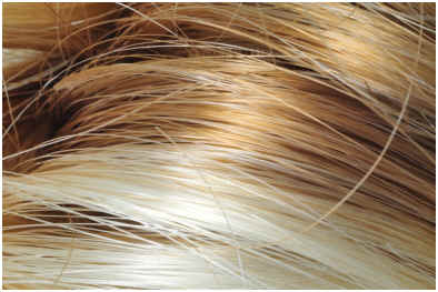 Synthetic Hair Coloring