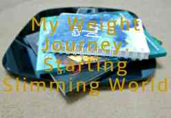 My Weight Journey: Starting Slimming World