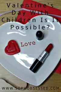 Valentine's Day With Children Is It Possible?