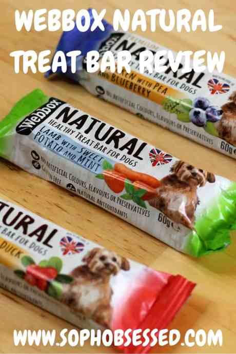 WEBBOX NATURAL TREAT BAR