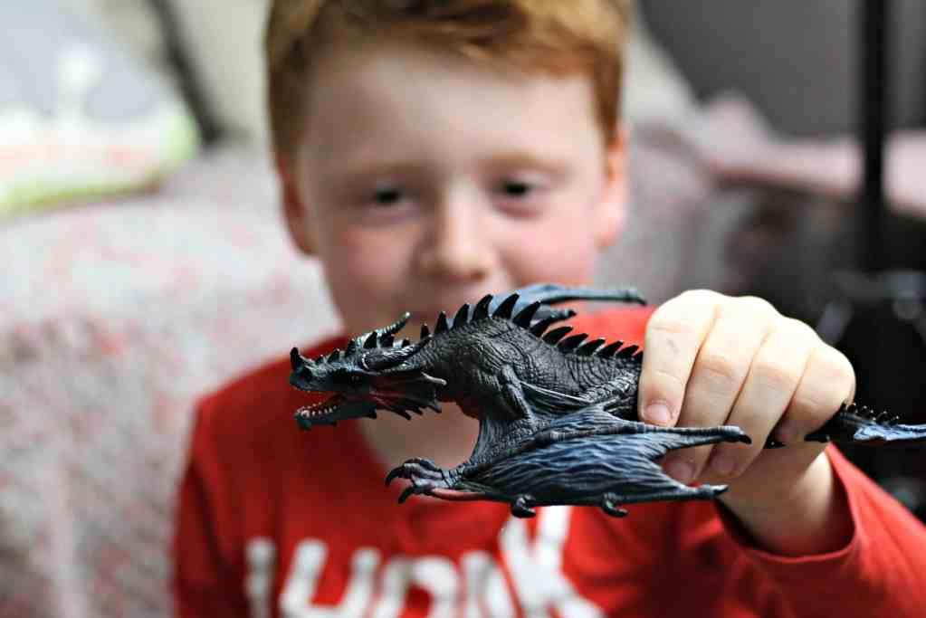 Schleich Eldrador Dragon Review: Dragon Night Hunter