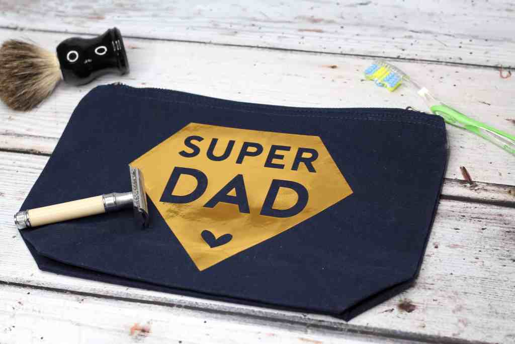 Super Dad Wash Bag : Celebrating Father's Day
