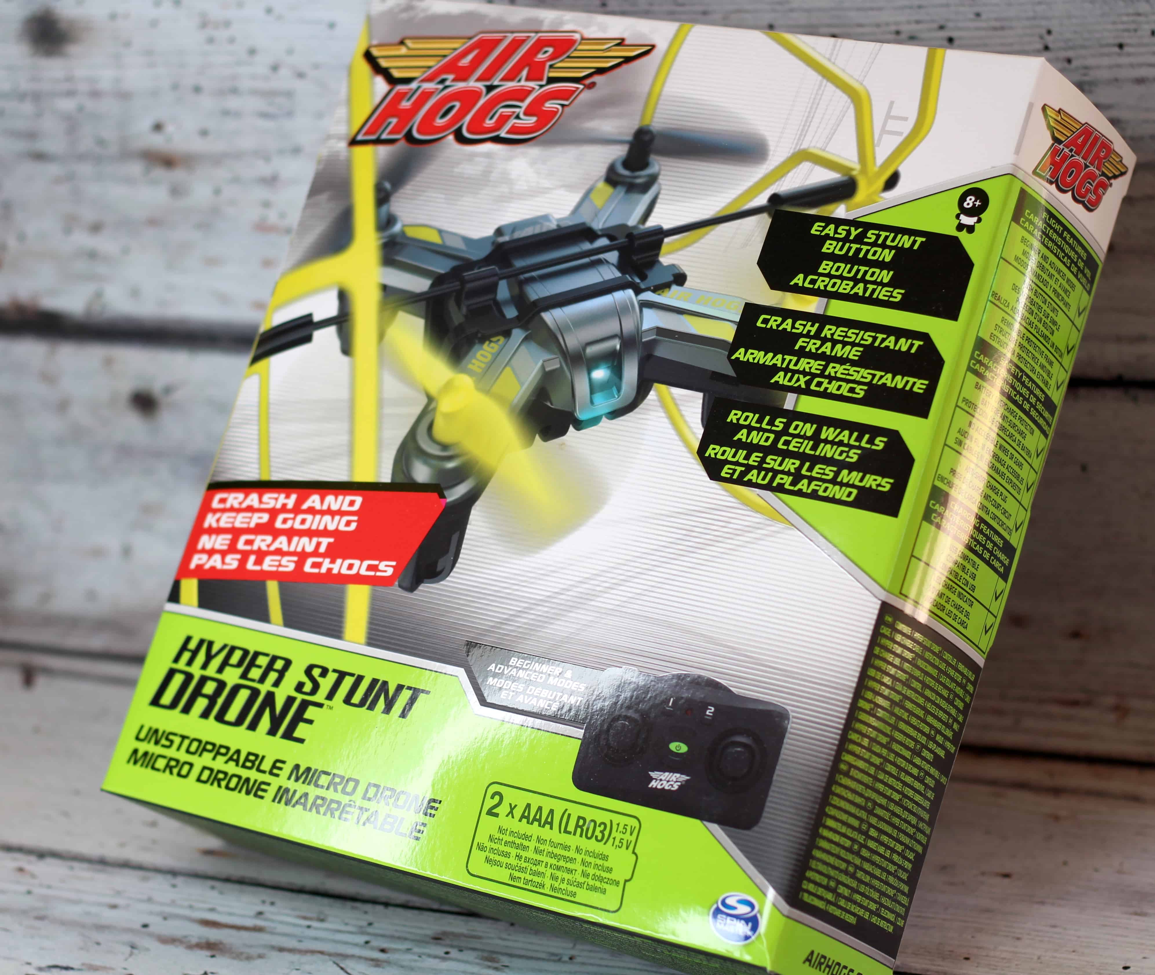 Spin Master Air Hogs Hyper Stunt Drone Review