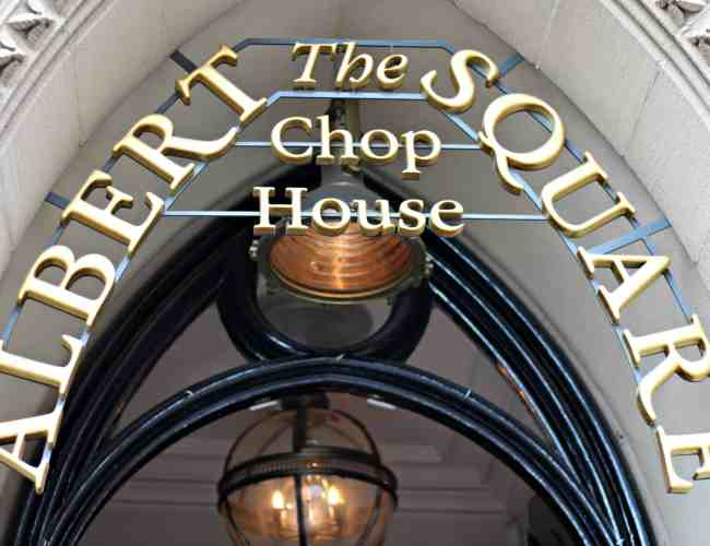 The Albert Square Chop House Sunday Roast Manchester