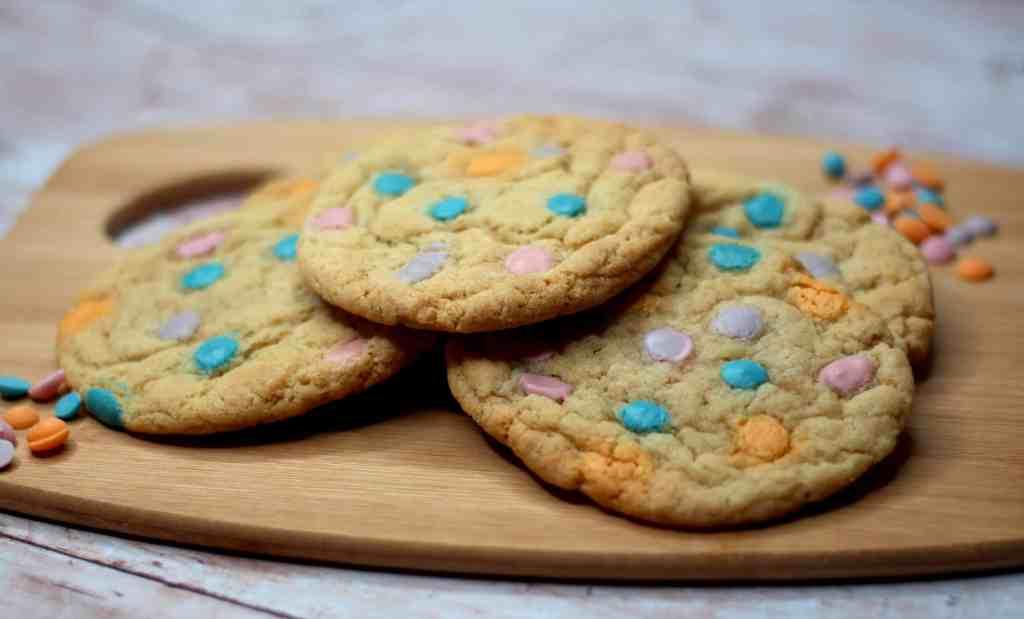 Unicorn Cookies using Dr Oetker Unicorn Chips