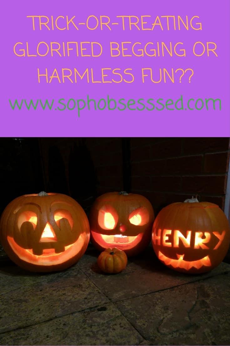 Halloween is harmless
