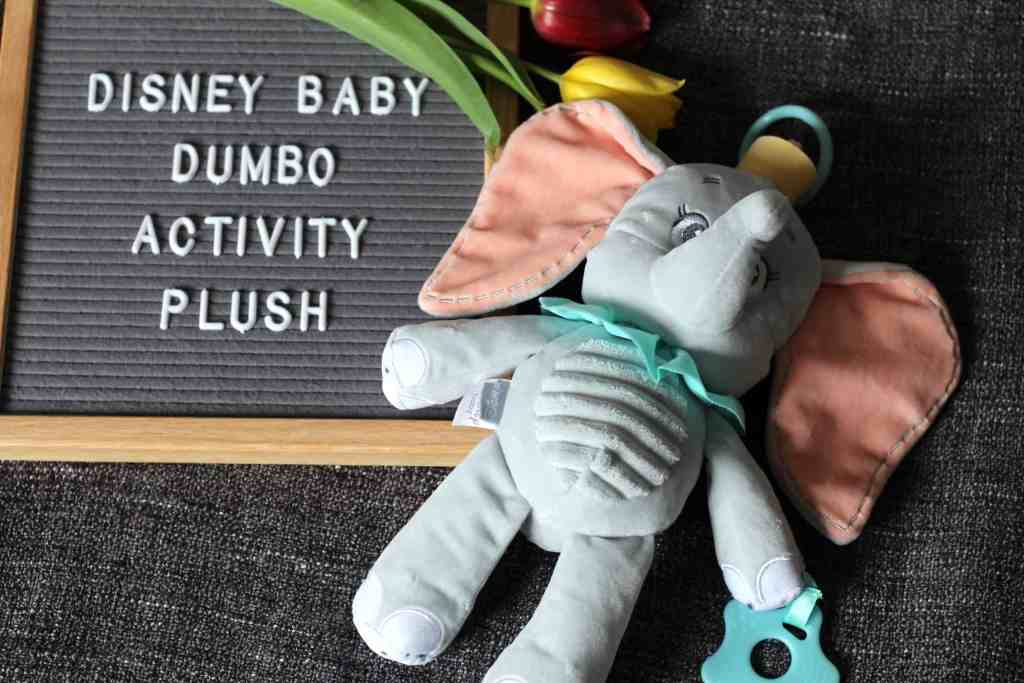 Disney Baby Dumbo Activity Plush Giveaway & Review