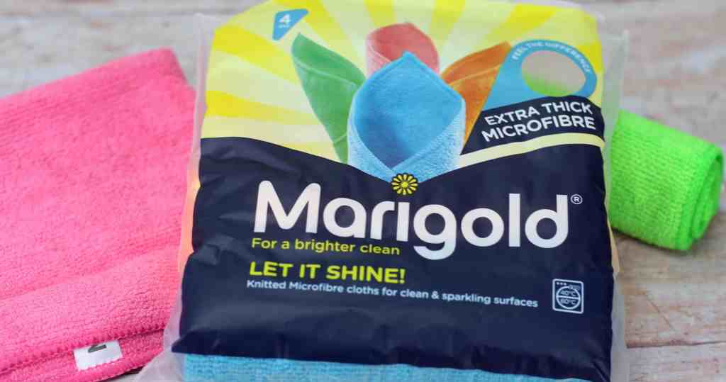Marigold let it shine microfibre cloths big spring clean