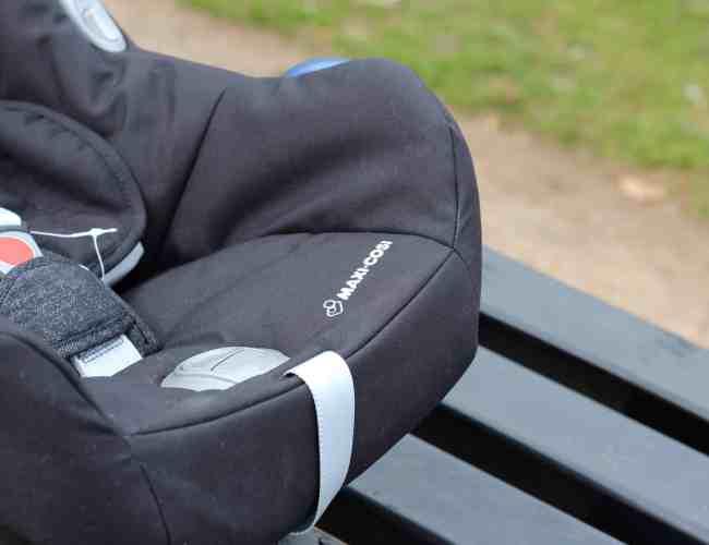 Maxi Cosi CabrioFix Group 0+ Car Seat Digital Black