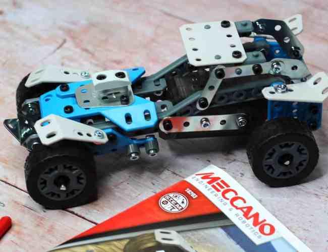 Meccano Rally Racer built