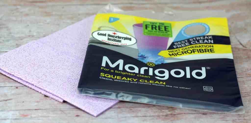 marigold squeaky clean cloth big spring clean
