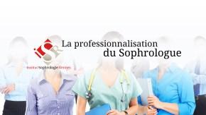 Professionnalisation du sophrologue - ISR