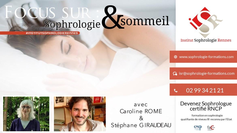 Focus sur Sophrologie et sommeil - ISR