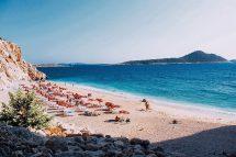 Beautiful Beach In Turkey - Kaputas Kas