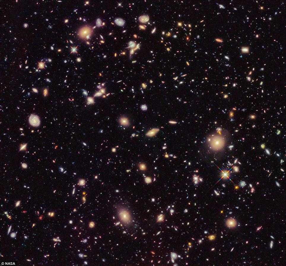 Galaxias de 13,3 mil millones de años de edad