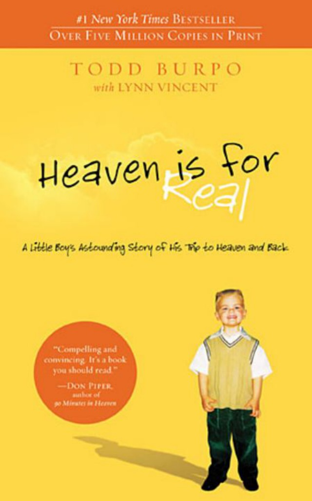 Portada Heaven is for real
