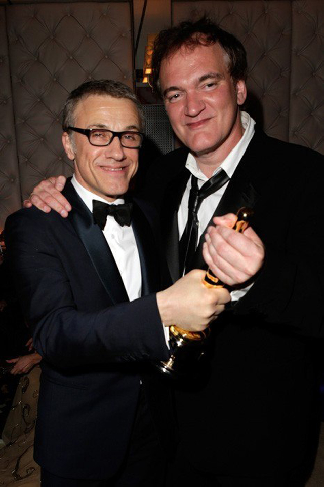 AfterPartyVanityFair Christoph Waltz y Quentin Tarantino copy
