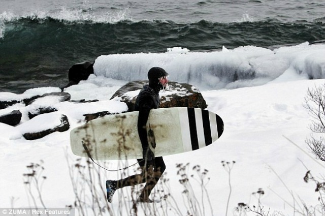 Surfista invernal