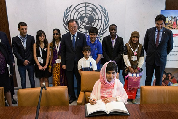 Malala Yousafzai, Advocate For Girls Education, Speaks At UN