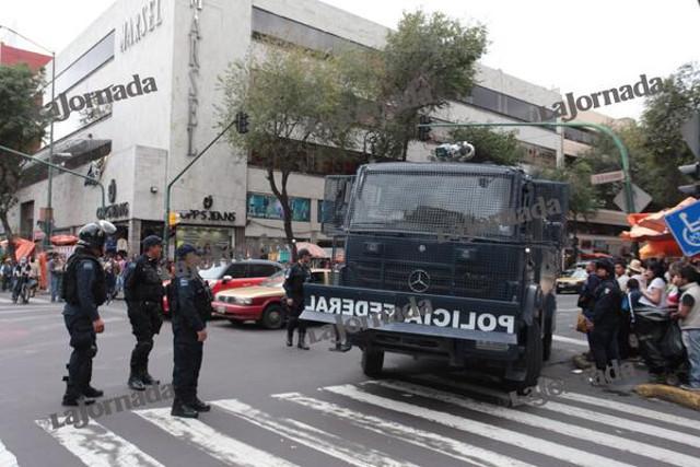 tanqueta policia