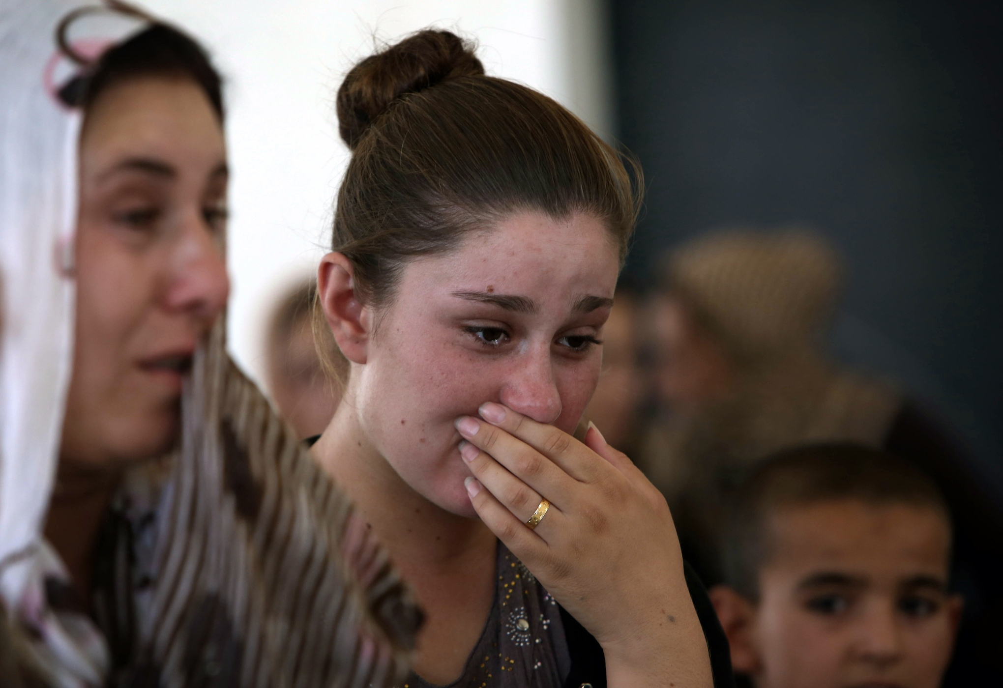 IRAQ-UNREST-YAZIDIS