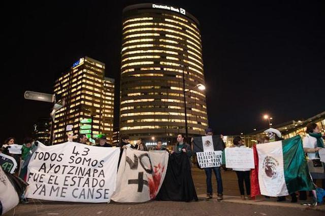 protestas hol vs mex