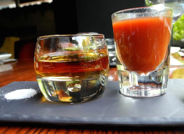 tequila en porfirios
