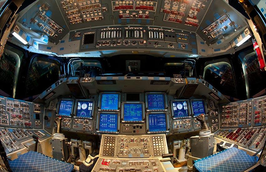 As Es La Cabina De Pilotos De Un Transbordador Espacial