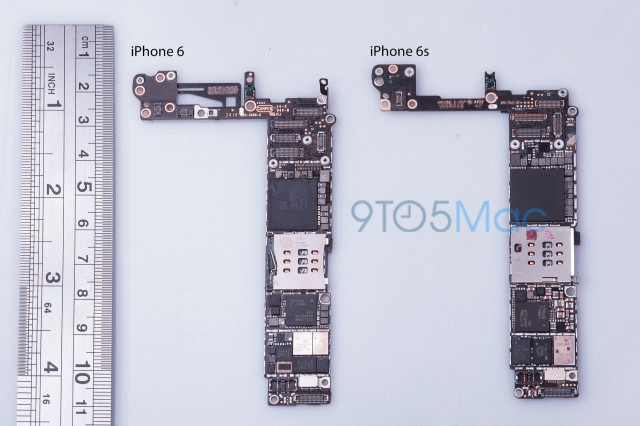 NuevasMotherboardsiPhone6S