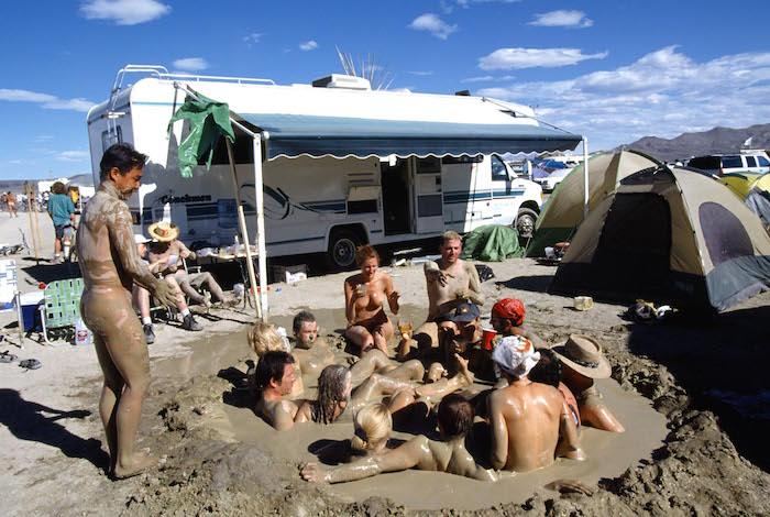 'Burning Man' Festival, Nevada, America - 2003
