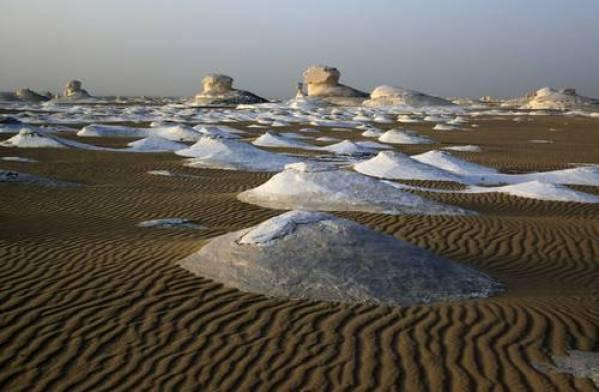 egipto desierto blanco