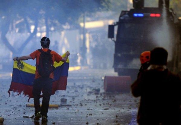 leopoldo lopez manifestaciones venezuela
