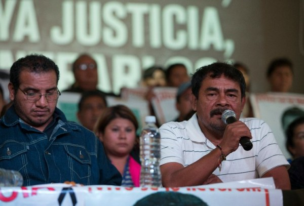 vocero ayotzinapa padres