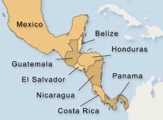 america-central-y-mexico