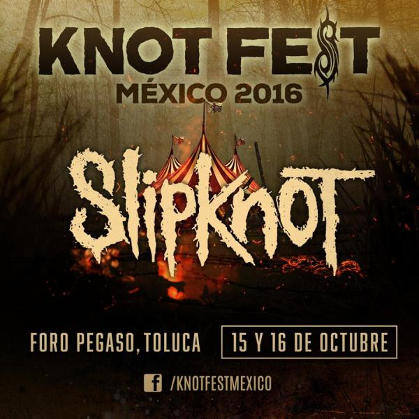 Knotfest 2016, Ya viene Knotfest 2016 y las bandas Slipknot, Deftones, The Offspring, Slayer