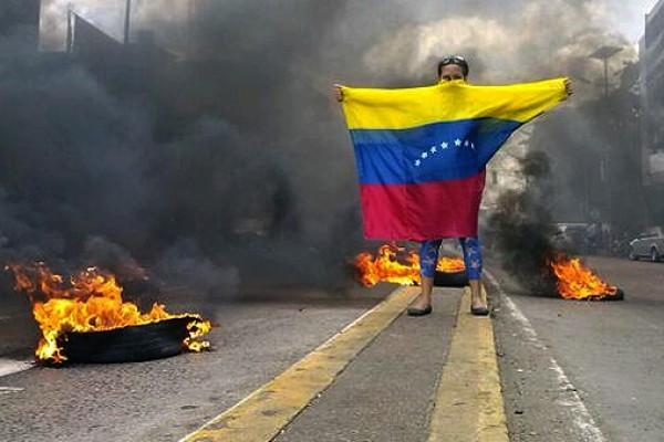 Resultado de imagen para violencia venezuela